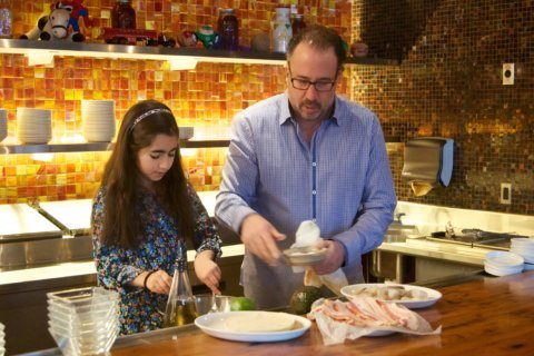 Necktie? No. Michael Schlow says cook for dad this Father's Day
