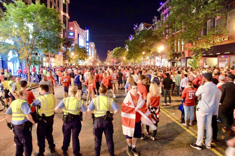 35053531737 Despite tens of thousands of Washington Capitals fans on the streets  celebrating a Stanley Cup victory