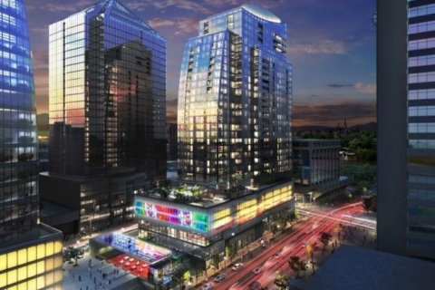 New LED public art installation coming to Rosslyn's Central Place Plaza