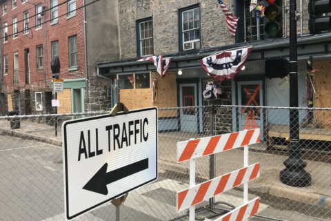 Ellicott City's flood-damaged Main Street to reopen to cars, pedestrians this week