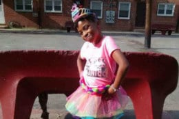 """Assistant D.C. Police Chief Chanel Dickerson said the suspects fired """"indiscriminately,"""" killing 10-year-old Makiyah Wilson and wounding four adults. """"A 10-year-old girl lost her life here ... All the hopes and the dreams that her family had for her are gone,"""" Dickerson said during a news conference. """"And, we have to be outraged."""" (Courtesy NBC Washington)"""