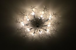 A chandelier from the W Hotel. (Courtesy Rasmus Auctions)