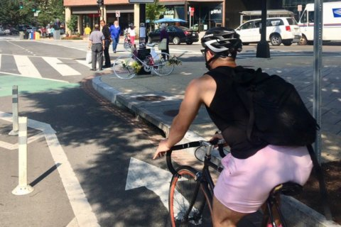 Parking spots pulled near Dupont Circle after cyclist killed