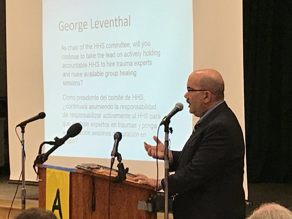 Council member George Leventhal said he also supports the requests. (WTOP/Michelle Basch)