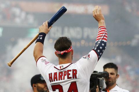 Nats' Bryce Harper wins Home Run Derby