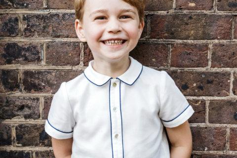 Photos: Prince George of Cambridge turns 5