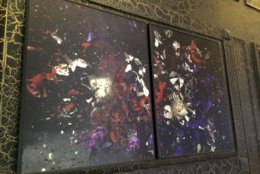 An artwork from the W Hotel. (Courtesy Rasmus Auctions)