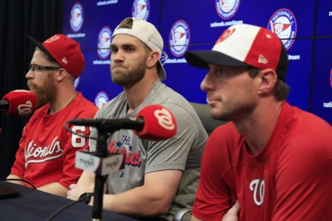 3 Nationals, 1 Oriole make MLB All-Star Game at Nats Park