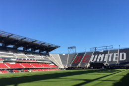 "Loudoun United will play three ""home away from home"" games at Audi Field in D.C. during its first season. (WTOP/Noah Frank)"