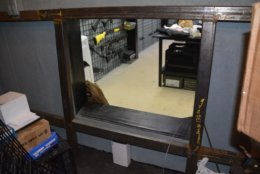 The view through the door into Bailey's bunker. (Photo courtesy of U.S. Attorney's Office)