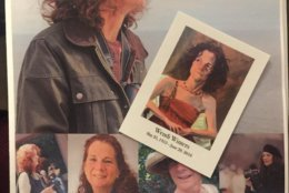 The memorial service for Wendi Winters, veteran journalist who was killed in the Annapolis Capital Gazette shooting, took place on July 7, 2018. (WTOP/Melissa Howell)