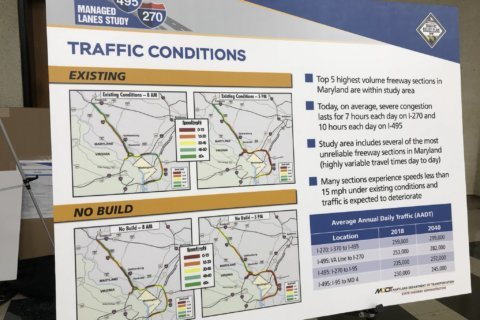 Toll lanes? Transit? Md. study eyes ways to trim Beltway, I-270 congestion