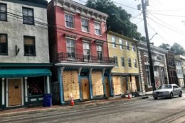 Ellicott City is still undergoing its restoration process after flooding devastated the historic Howard County, Maryland, town. (WTOP/Neal Augenstein)