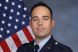 Howard County Firefighter Nathan Flynn. He was a 13-year veteran of the department who died in the line of duty battling a seven-alarm fire on Monday morning. He is the first firefighter to die in the line of duty in the history of Howard County. (Courtesy Howard County Fire and EMS)