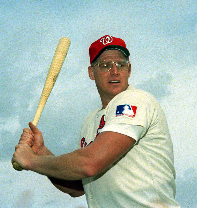 A 1970 photo of Frank Howard of the Washington Senators. (AP Photo)