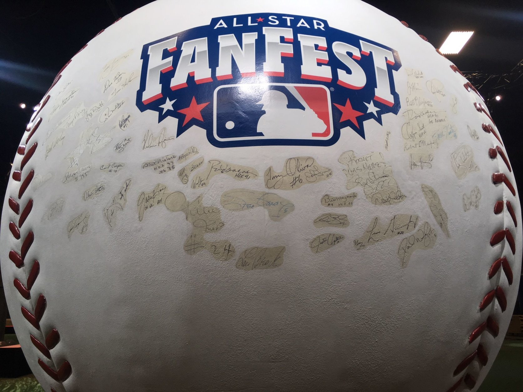 Major League Baseball's All-Star FanFest kicks off Friday morning at Walter E. Washington Convention Center. (WTOP/Noah Frank)