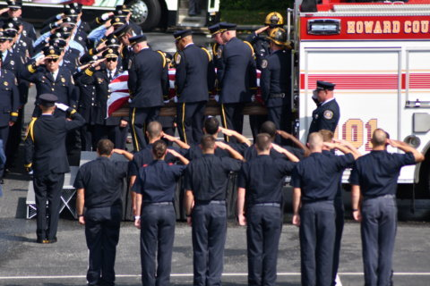 Thousands celebrate life of Howard Co. firefighter who died in line of duty