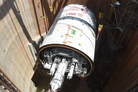Meet 'Chris,' the tunnel-boring machine going to work in Northeast DC