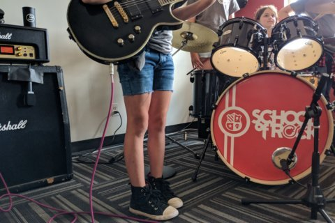 Summer jam: At this camp, kids learn how to throw down the rock
