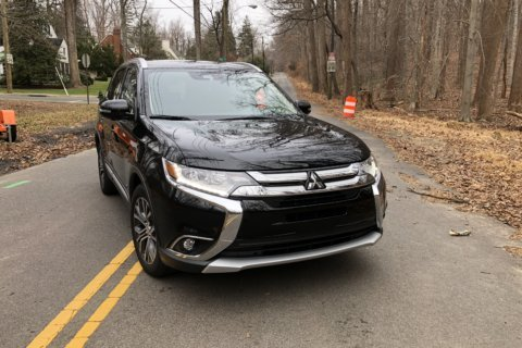 The seven-seat AWD Mitsubishi Outlander is a crossover that fits tight budgets