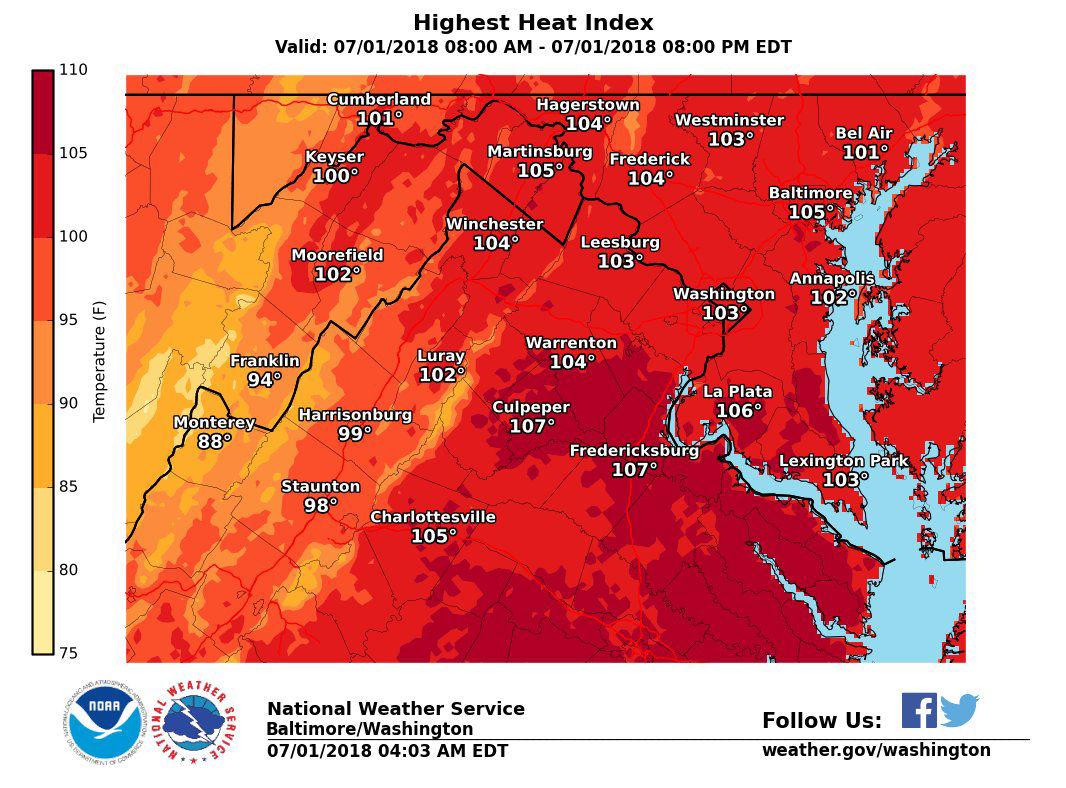 Heat advisory expires, hot temperatures prove relentless in
