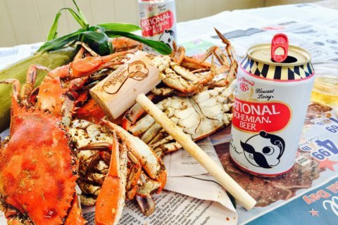 Drink a Natty Boh, help save a crab