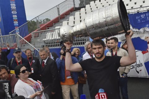 Ovechkin welcomes newborn baby on social media