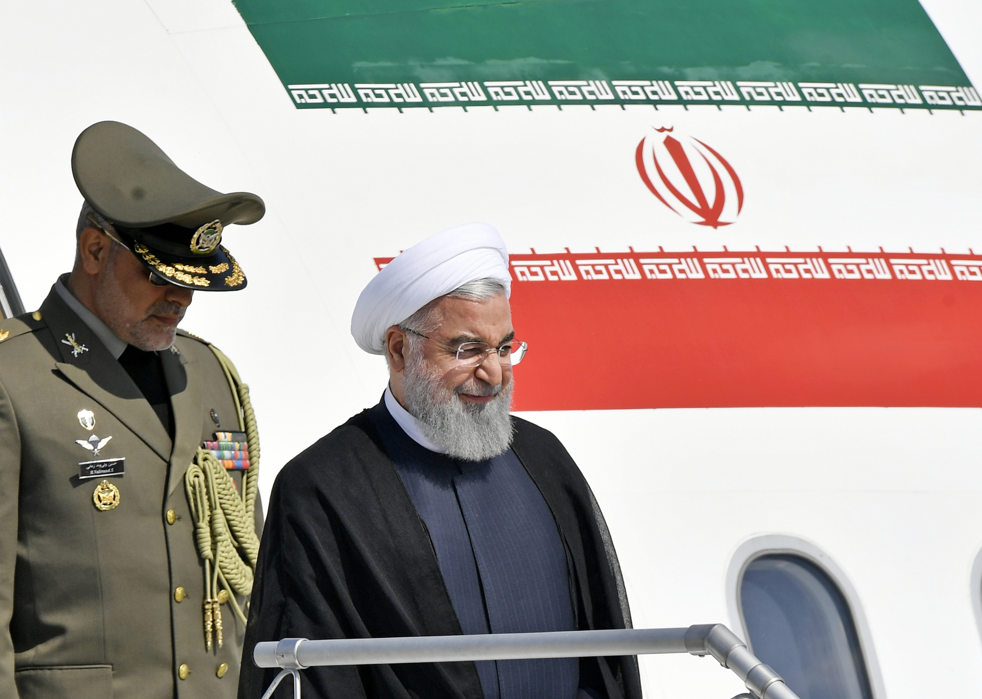 Iran's president warns over US push against buying Iran oil
