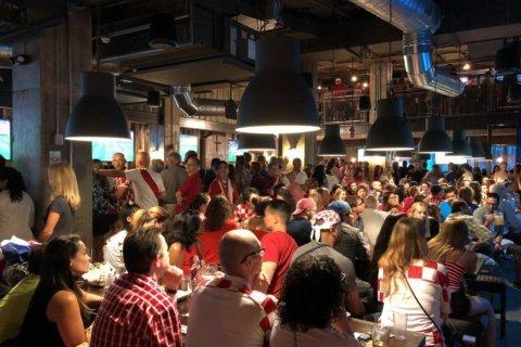 Photos: Hope and heartbreak among DC Croatia fans