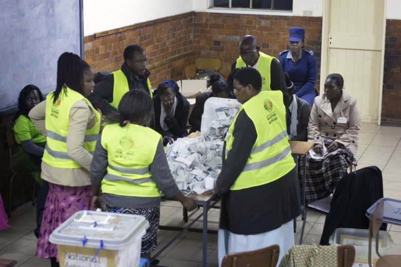 zimbabwe says election is clean opposition is skeptical wtop