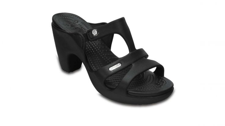 dd6b5226752 High-heeled Crocs already sold out online