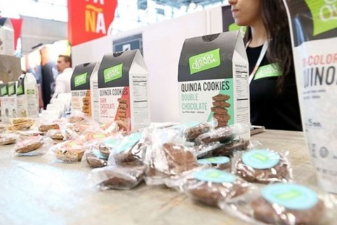 These gluten-free cookies are made from quinoa