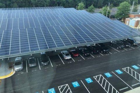 Prince George's Co. opens 1st solar carport