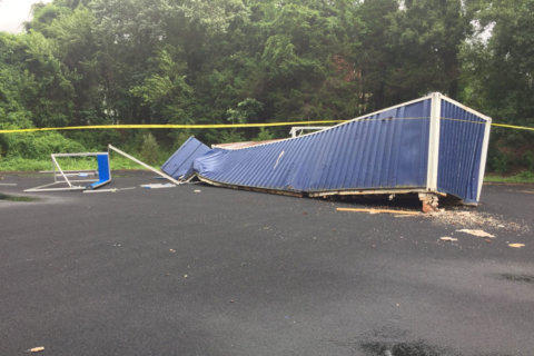 Tornado touches down briefly near Fairfax Co. high school