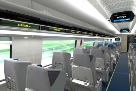 Sneak peek at Amtrak's new Acela trains