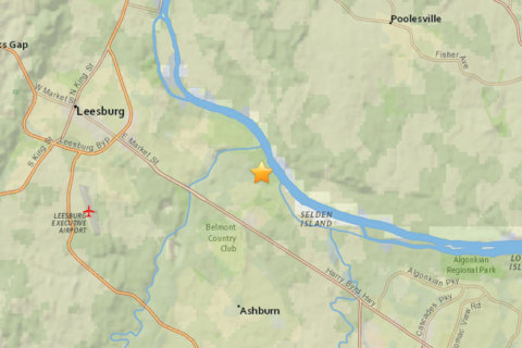 Shook me (a little) all night long: Small quake hits Loudoun County