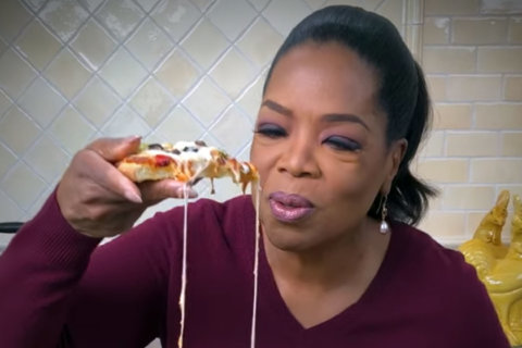 Caul-ing all pizza fans: Oprah reveals frozen pizza line with cauliflower crust