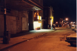 Ben's in 1987, during the construction of the Green Line --  the one phase of its history, Virginia Ali said, when they seriously considered hanging it up. (Courtesy Ben's Chili Bowl)