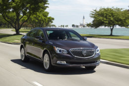 Best Used Large Car for Teens:  The 2015 Buick LaCrosse  (Courtesy General Motors)