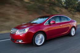 Best Used Small Car for Teens:  The 2014 and 2015 Buick Verano  (Courtesy General Motors)