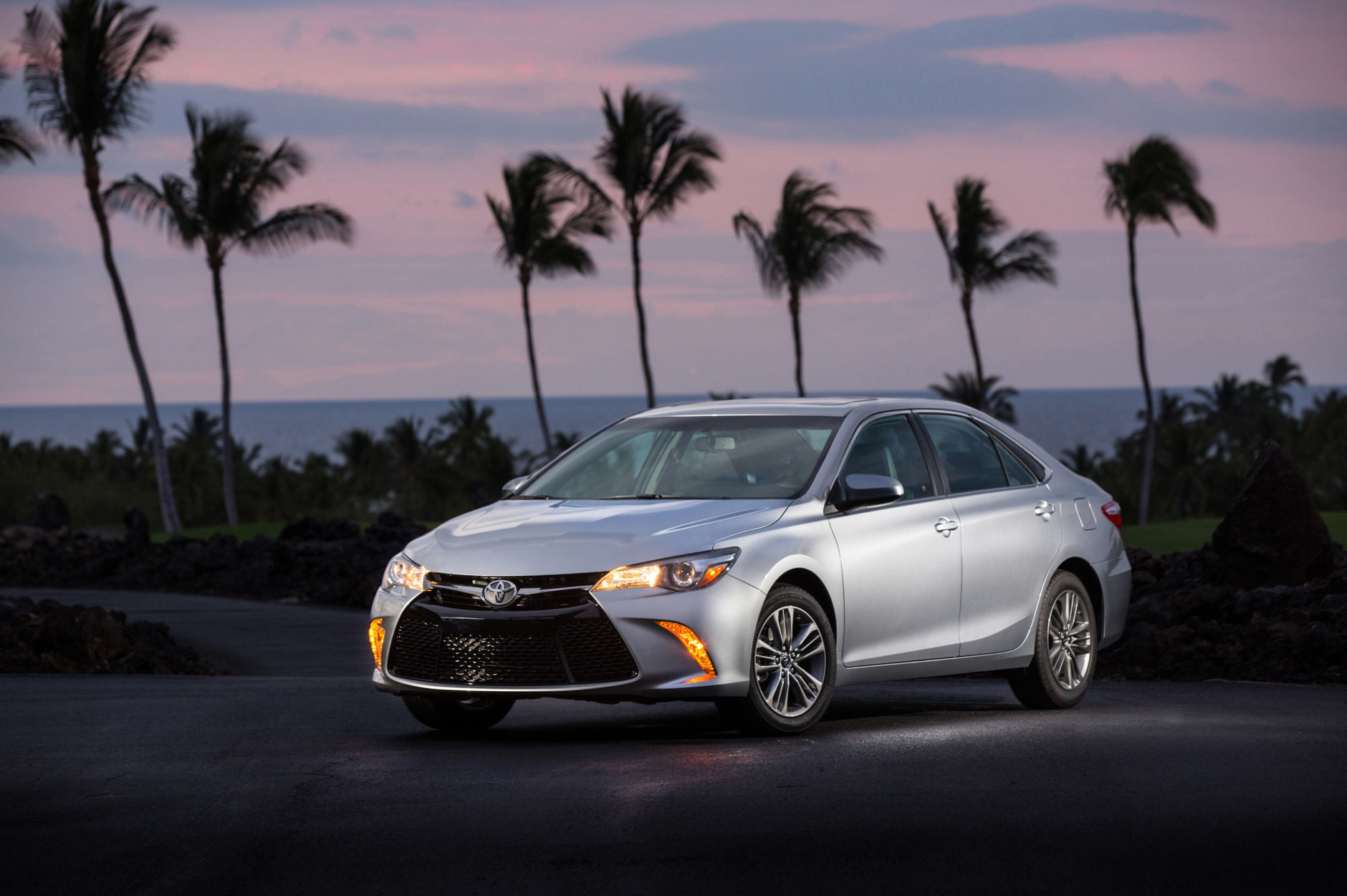 Best Used Midsize Car for Teens:  The 2015 Toyota Camry  (Courtesy Toyota Motor Sales USA)