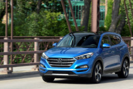 Best New SUV/Crossover for Teens $30,000 to $35,000:  The 2018 Hyundai Tucson  (Courtesy Hyundai Motor America)