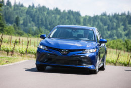 Best New Car for Teens $25,000 to $30,000:  The 2018 Toyota Camry  (Courtesy Toyota Motor Sales USA)