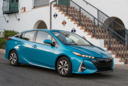 Best New Car for Teens $30,000 to $35,000:  The 2018 Toyota Prius Prime  (Courtesy Toyota Motor Sales USA)