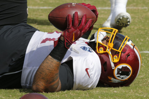 Redskins' preseason opener lineup takes shape