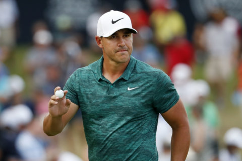 Koepka outduels Tiger, wins 2nd major of the year