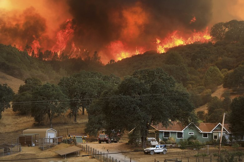 the latest growing california fires prompt new evacuations wtop