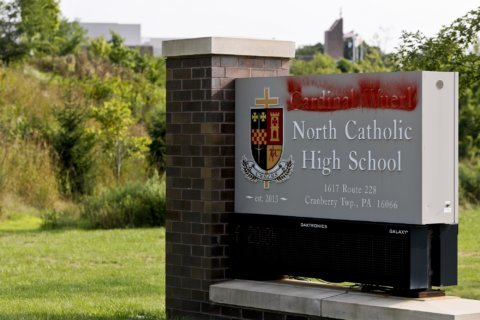 School drops archbishop's name amid sex abuse report fallout