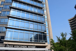 The new WTOP office space is right across from the Friendship Heights Metro station. (WTOP/Teta Alim)