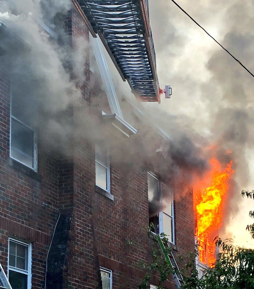 Fire officials said the blaze was accidental, caused by a malfunctioning refrigerator powered by an extension cord. (Courtesy DC Fire and EMS)